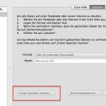 Mac Book Pro Startvolume voll