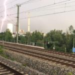 Gewitter über Nürnberg