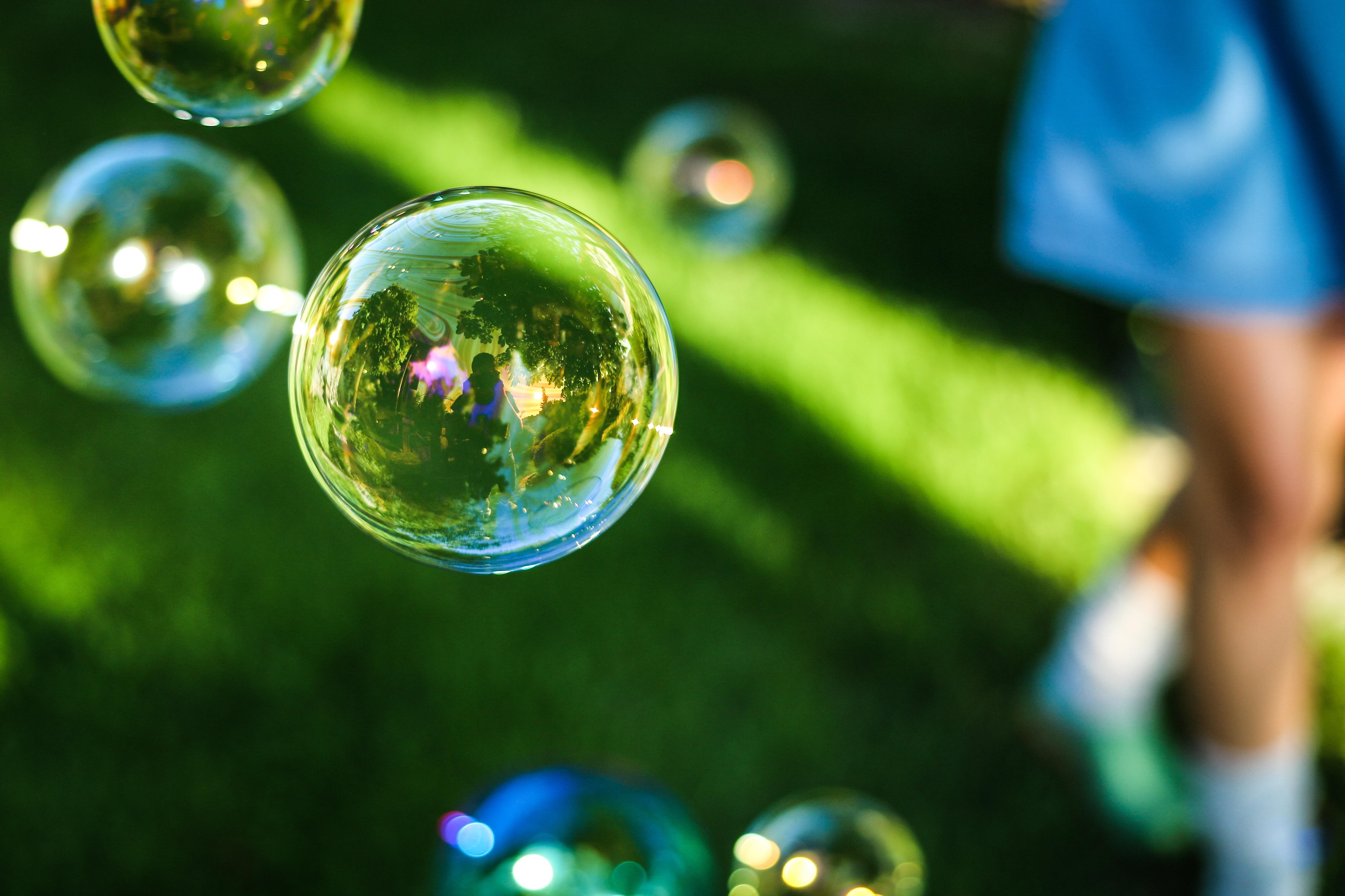 Filterbubble - eher Seifenblasen